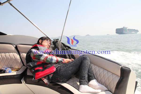 Sleeping on the yacht