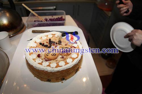 China tungsten's X-mas Cake