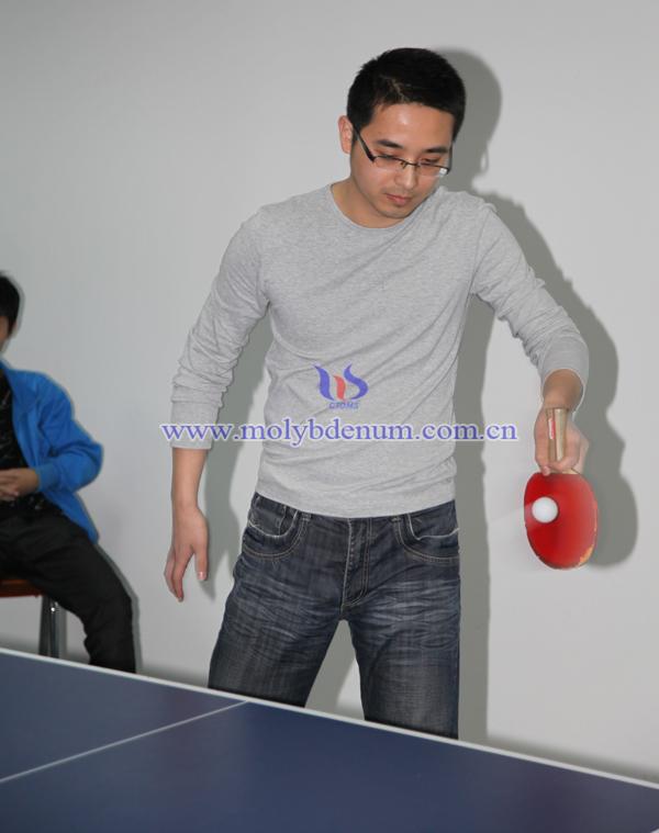 Alfred PK Vinson - Chinatungsten's Table Tennis Match