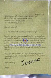 Jonne's Handwriting