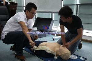 China-tungsten-first-aid-training-3
