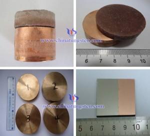 钨铜功能梯度材料