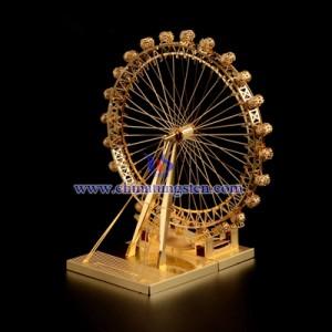 stainless steel London Eye 3D jigsaw