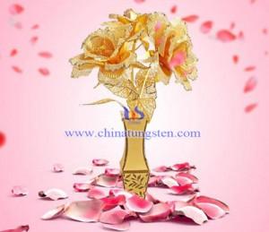 不锈钢玫瑰3D立体拼图