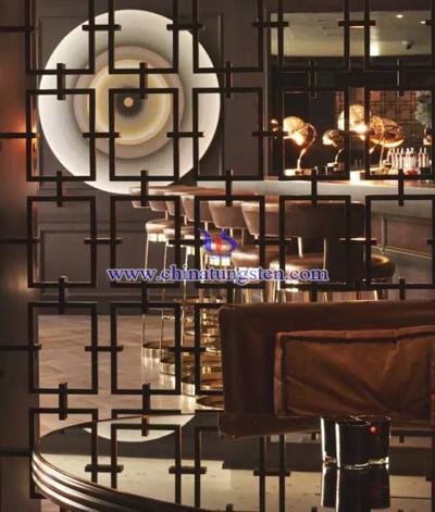 酒吧镂空不锈钢屏风